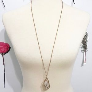 • Francesca's • Stone Necklace